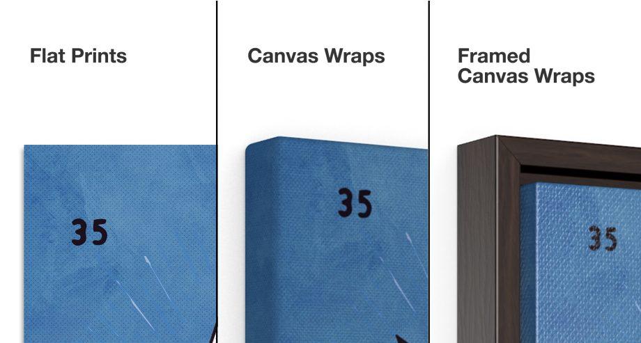 La Estrella Loteria Art Print - Media Options Close Up
