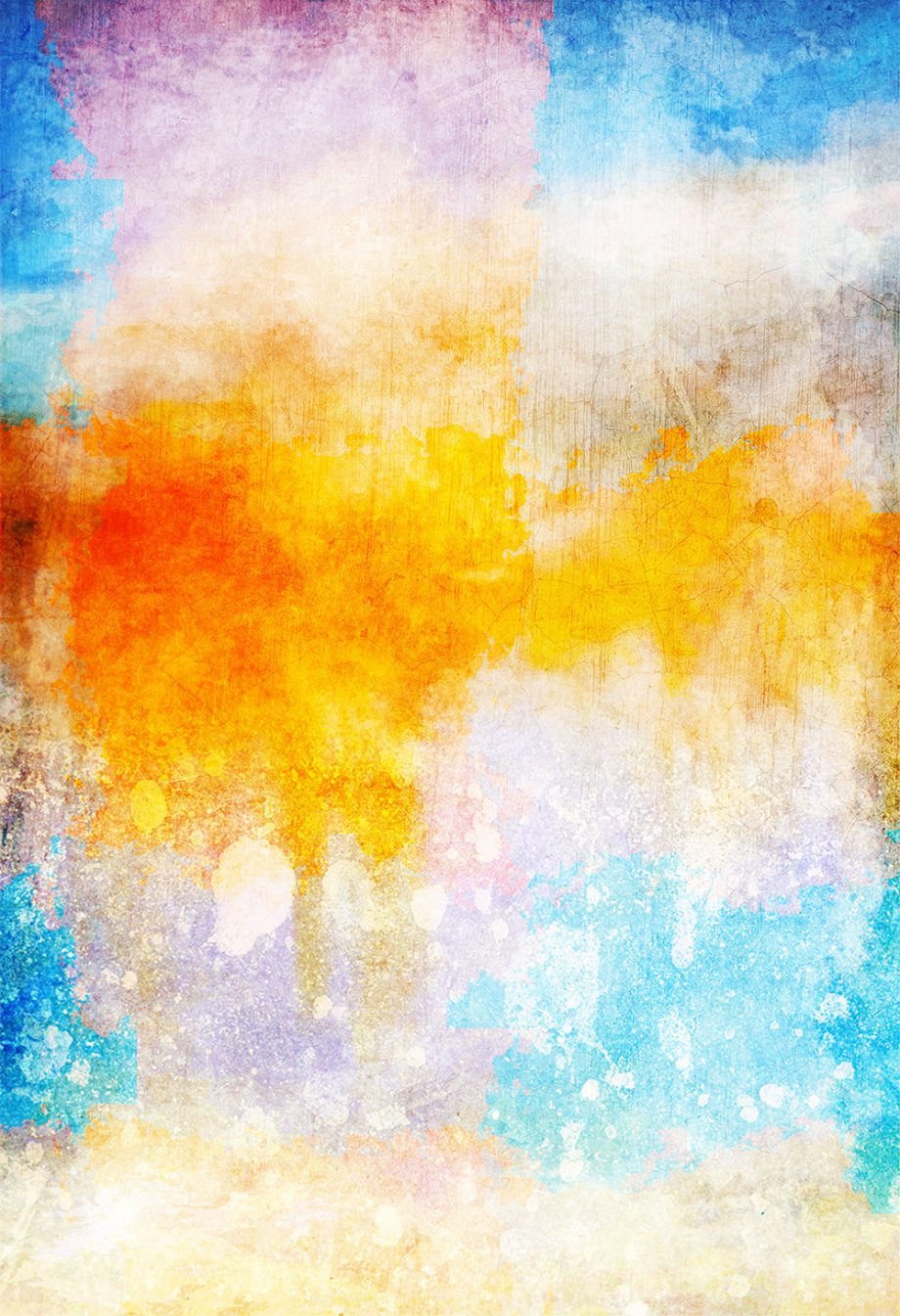 Abstract Art Print Abstract Clouds Decor Giclee Print on Cotton Canvas and Paper Canvas Poster Home Wall Art