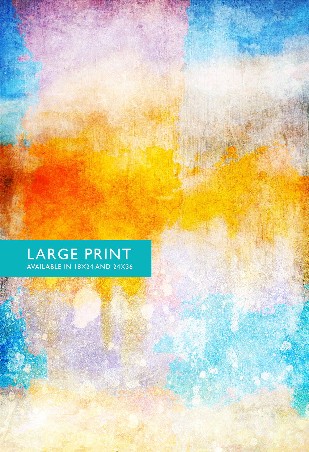 Abstract Art Print Abstract Clouds Decor Modern Art Giclee Print on ...