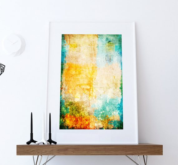 Abstract Art Print Abstract Corrosion Decor Giclee Print on Cotton Canvas and Paper Canvas Poster Home Wall Art