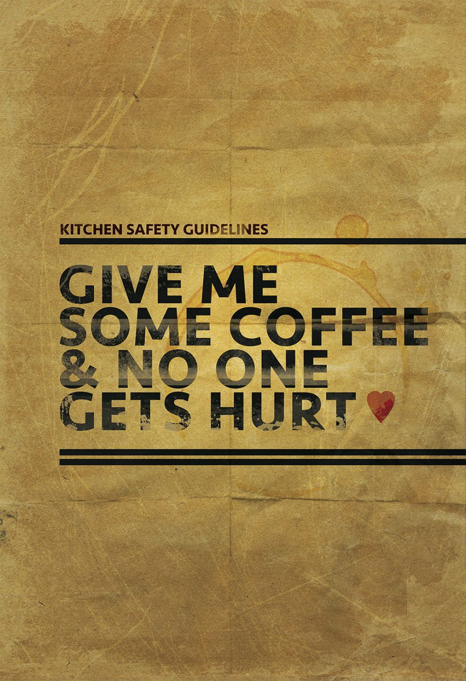 Coffee Poster Kitchen Print Original  Giclee Print on Paper Canvas Funny Home Kitchen Decor