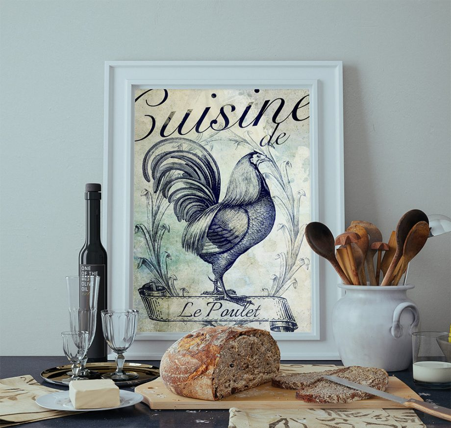 french-kitchen-decor-rooster-art-rustic-farmhouse-giclee-large-print-on-satin-or-cotton-canvas-poster-home-wall-art-5817abbc2.jpg