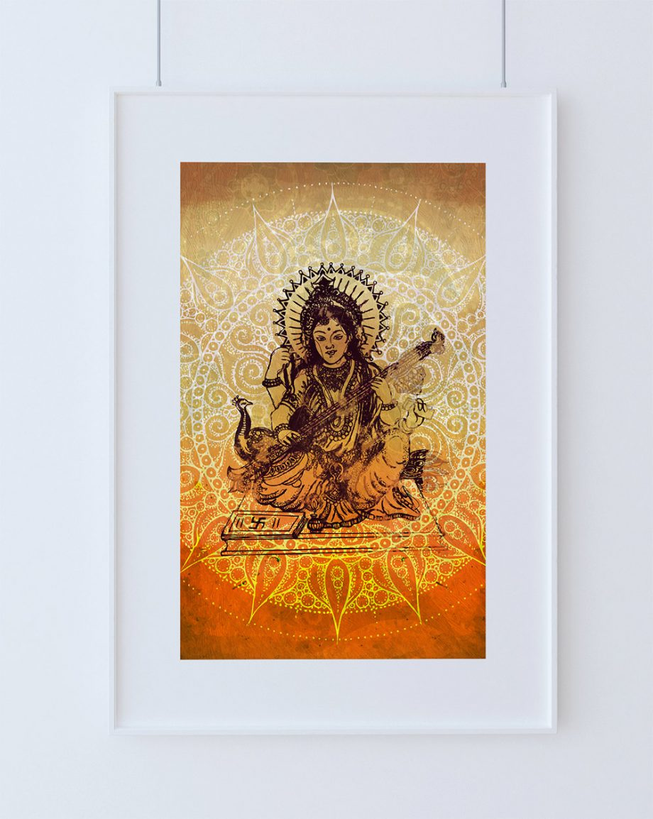 hindu-godess-saraswati-print-vintage-hindu-decor-wall-art-giclee-print-18×24-24×36-large-giclee-print-on-cotton-canvas-and-satin-paper-5817aa022.jpg
