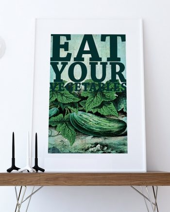 Kitchen Print Kitchen Decor Pickle Art Rustic Farmhouse Giclee Print on Cotton Canvas and Paper Canvas Poster Home Wall Art