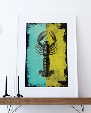 Lobster welovecmyk for Vintage ocean decor