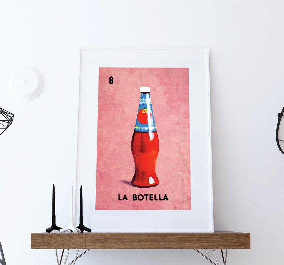 loteria-la-botella-mexican-retro-illustration-art-print-vintage-giclee-on-paper-canvas-poster-wall-decor-5817b5b51.jpg
