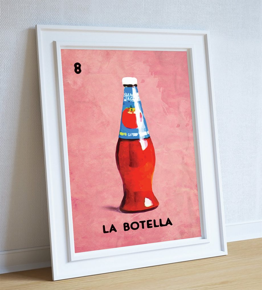 loteria-la-botella-mexican-retro-illustration-art-print-vintage-giclee-on-paper-canvas-poster-wall-decor-5817b5b63.jpg