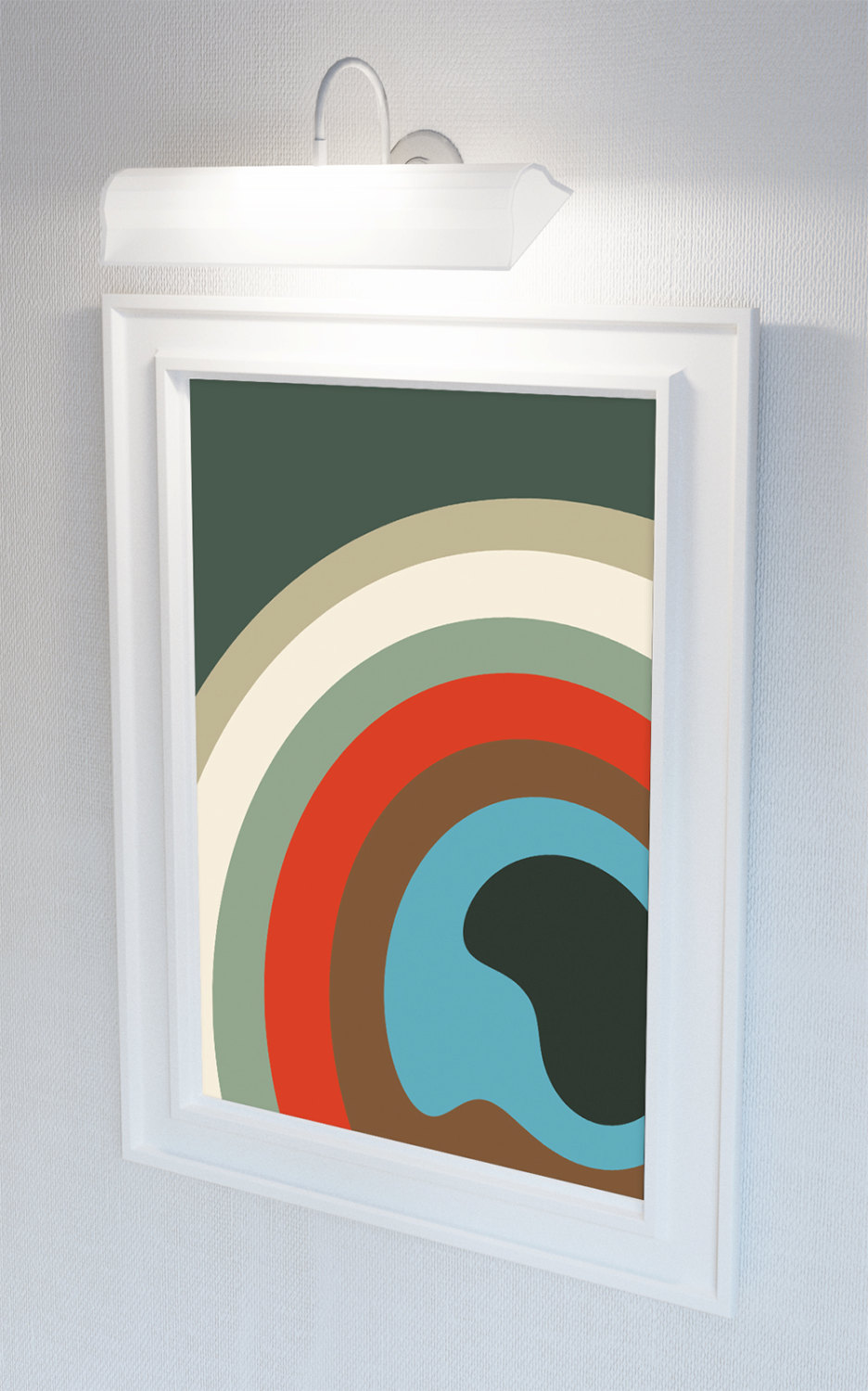 Wall Art And Decor For Living Room: Mid Century Modern Print Abstract Art Print Poster Giclee