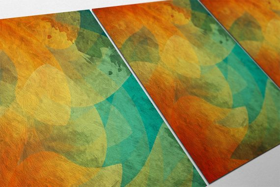 Modern Abstract Print Illustration Art Print Giclee on Cotton Canvas and Paper Canvas Poster Wall Decor