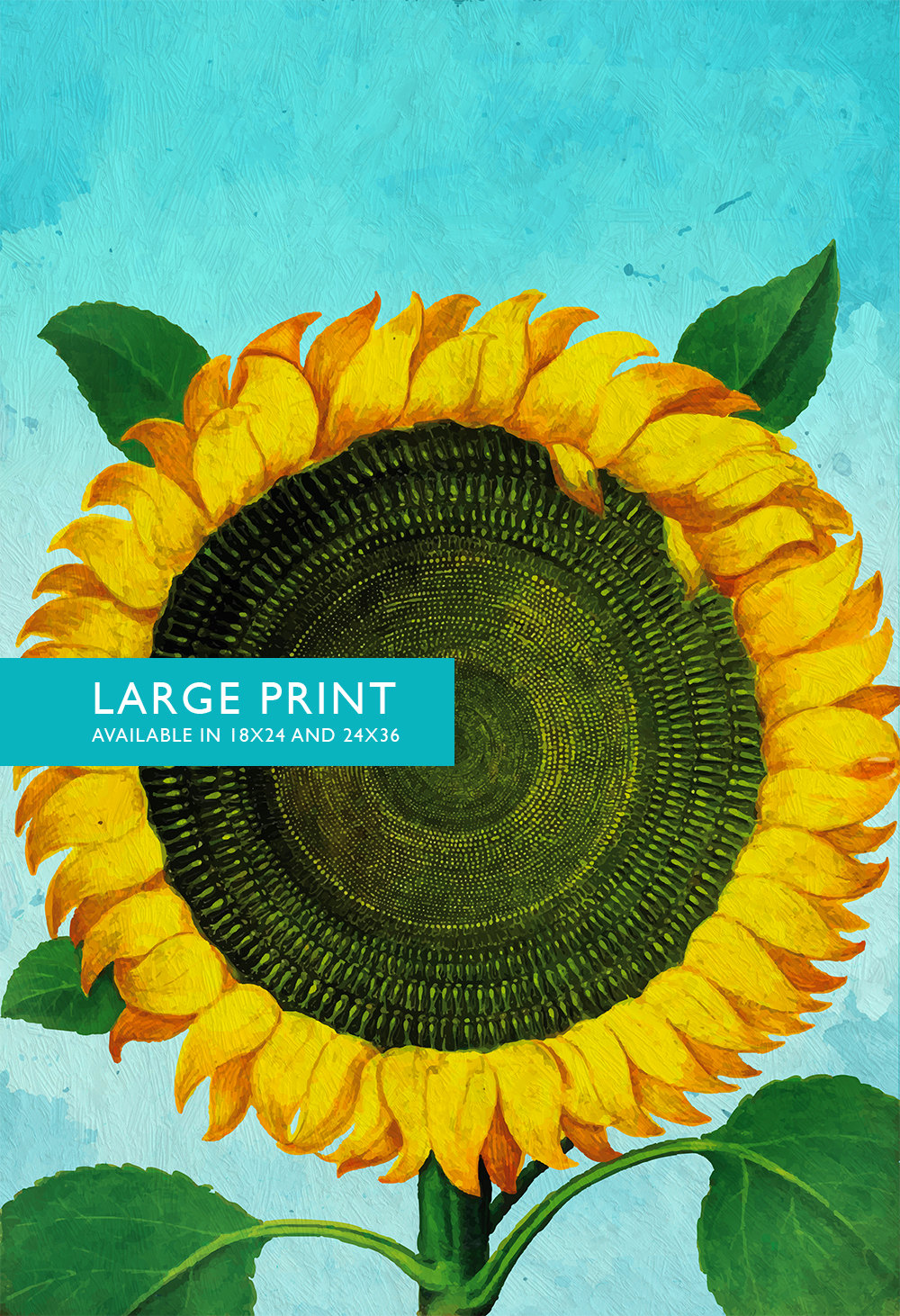 Sunflower Print Sunflowers Art Botanical Print Flower Kitchen