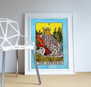 tarot-print-the-empress-retro-illustration-art-rider-print-vintage-giclee-on-cotton-canvas-or-paper-canvas-poster-wall-decor-5817a9c53.jpg