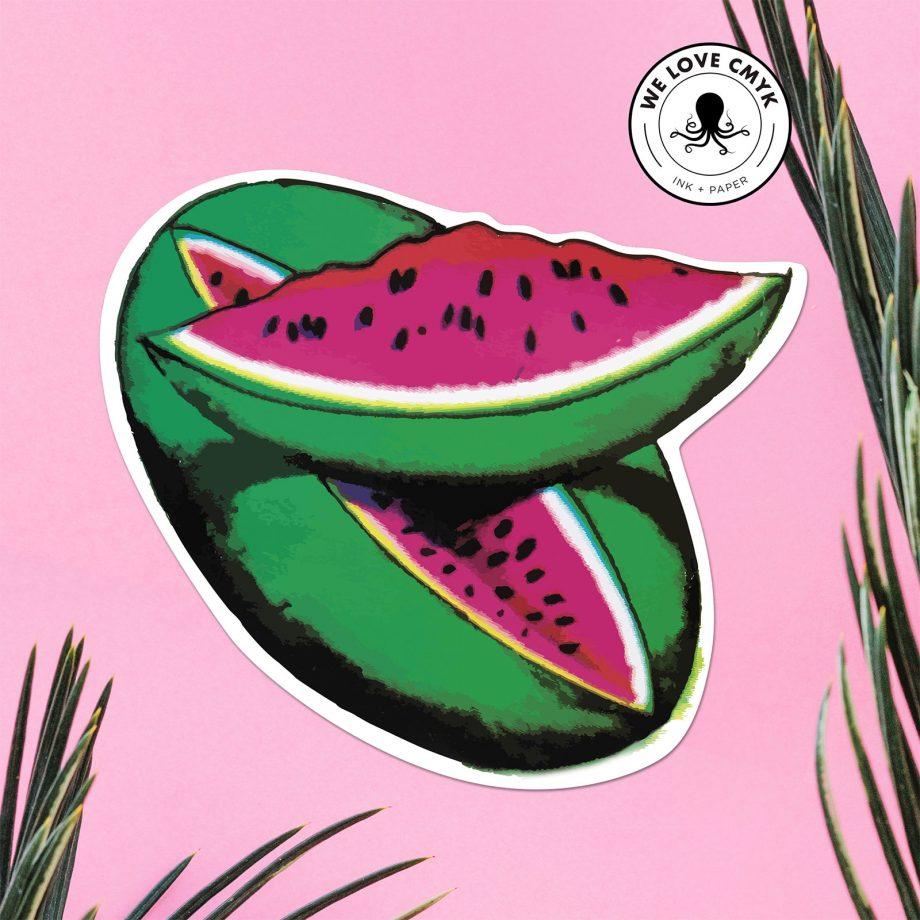 Loteria-La-Sandia-Sticker