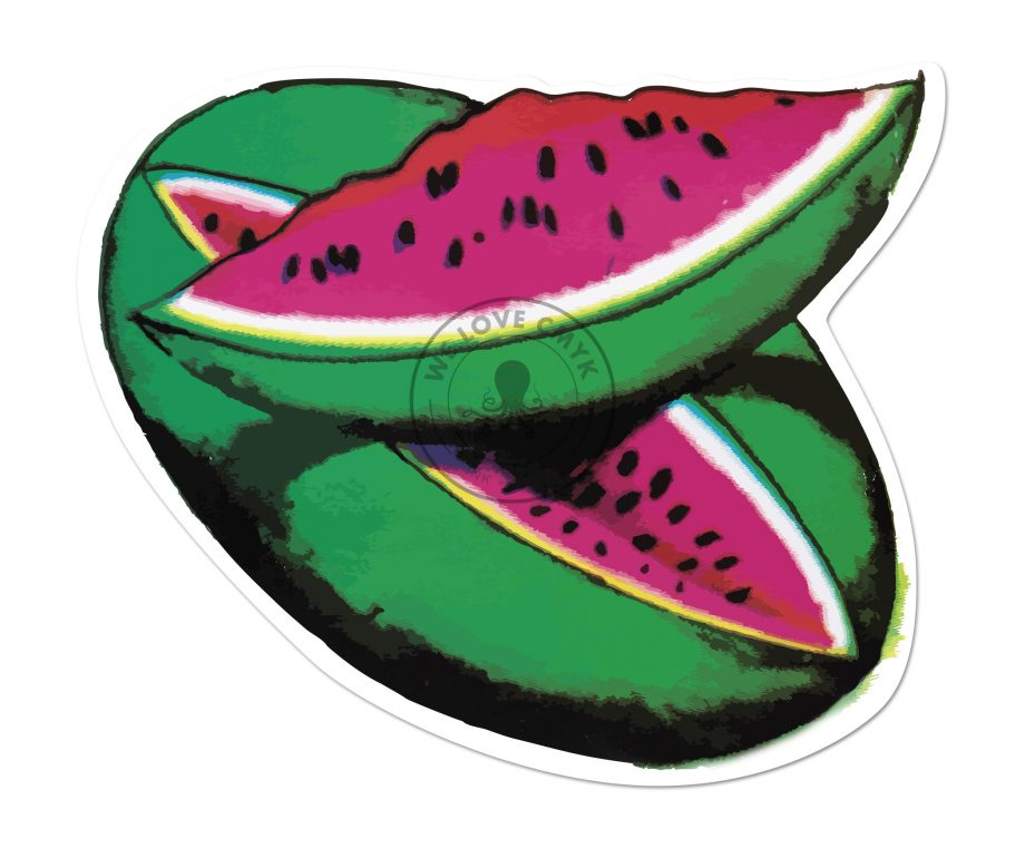 Loteria-La-Sandia-Sticker-Watermark