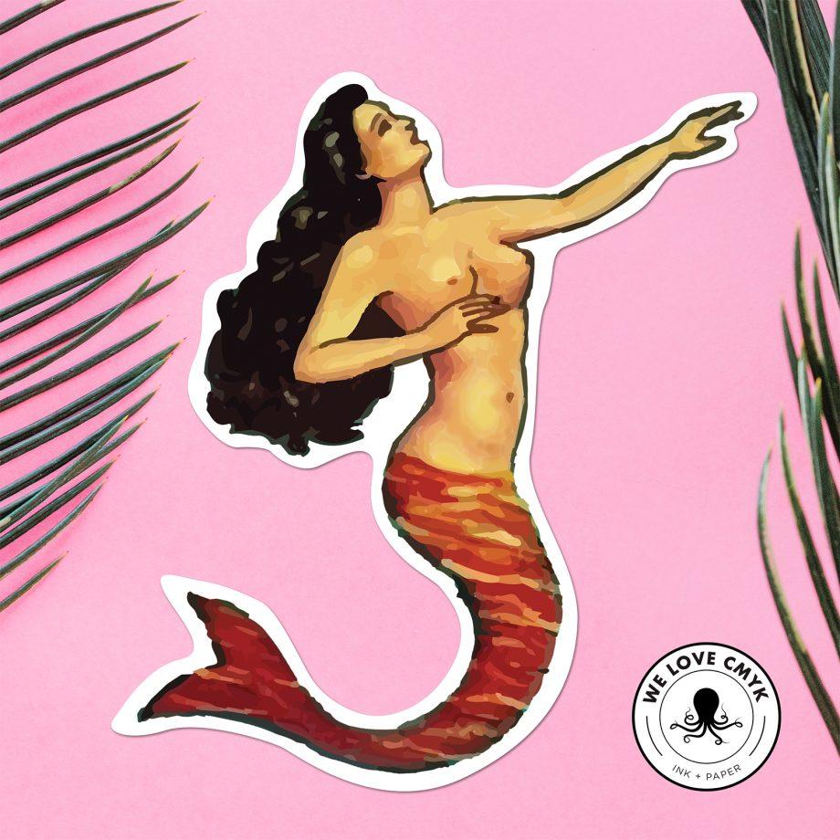 Loteria-La-Sirena-Sticker