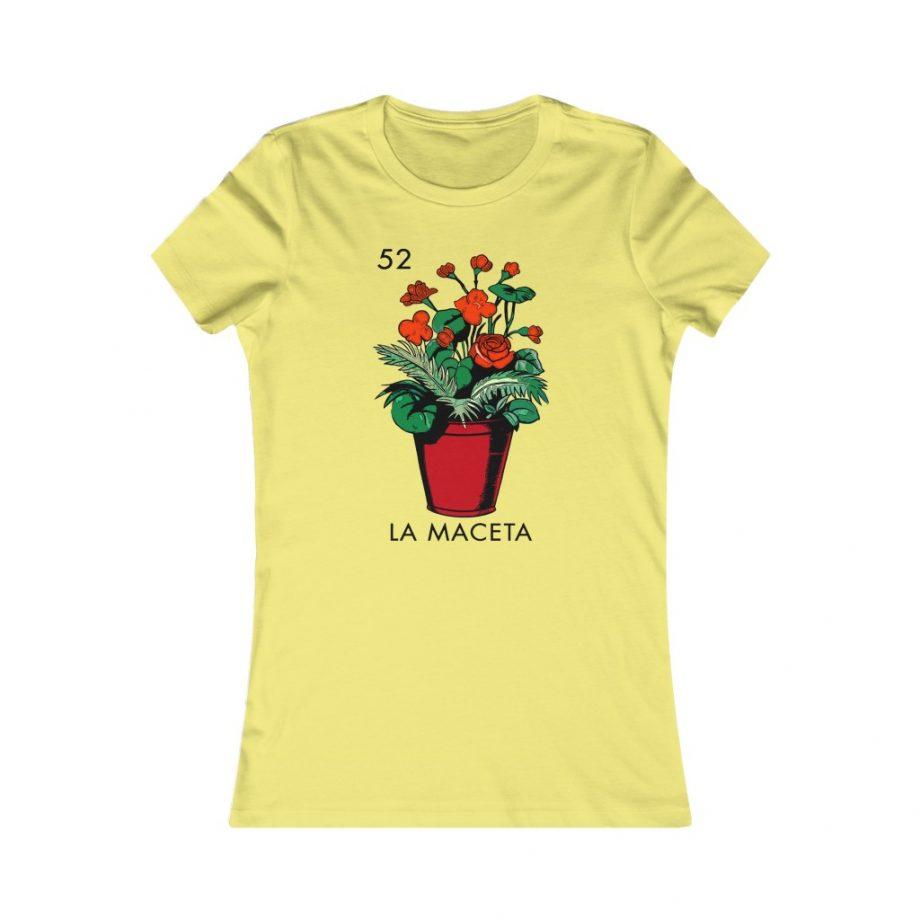La Maceta Mexican Loteria Graphic Tee - Yellow