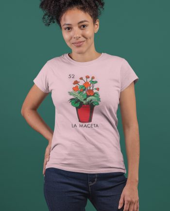 La Maceta Loteria Potted Plant Women's T-Shirt