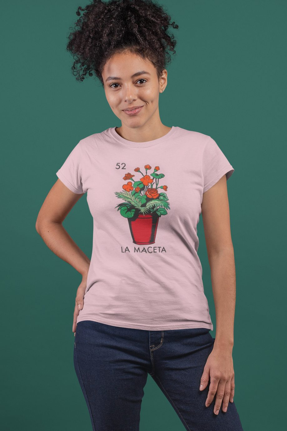La Maceta Loteria Potted Plant Women's T-Shirt