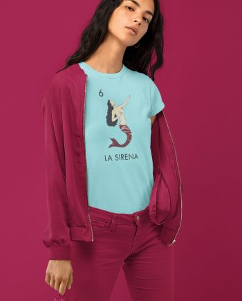 La Sirena Loteria Mermaid Women's T-Shirt